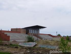 На «Локомотиві» у Ковелі продовжують будівельні роботи