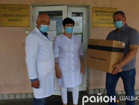 Шацькій районній лікарні подарувалимонітор пацієнта
