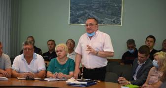 Засідання комісії ТЕБ та НС щодо ситуації на Рівнеазоті