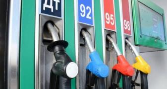 Ціна на бензин та дизпаливо впала