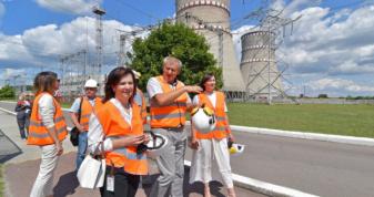 Рівненську АЕС із візитом відвідала делегація Луцького національного технічного університету (ЛНТУ)