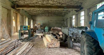 Незаконно зрубана деревина