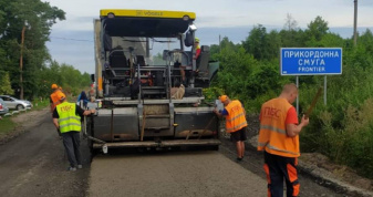 На відтинку від села Пульмо до урочища «Гряда» працюють дорожники