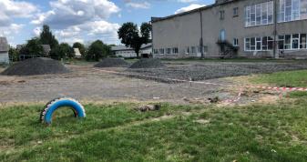 У Маневичах будують спортивний комплекс