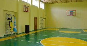 Шкільний спортзал. Фото ілюстративне