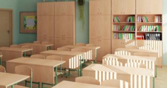 Шкільні меблі. Фото ілюстративне