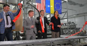 Рівненщина: компанія «Морган Феніче» отримала чотири мільйони доларів та розпочинає виготовлення поролону