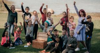 У Шацькій громаді розвивають дитячий туризм.ФОТО Влад Мальцев