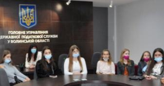 Волинські податківці зустрілися з майбутніми економістами-студентами ЛНТУ