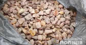 Бурштин знайшли у жителя села Сокіл