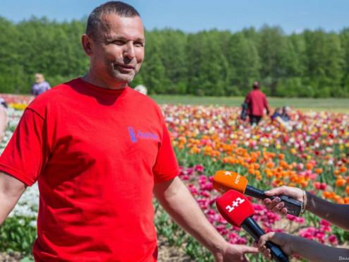 Олександр Подзізей — власник знаменитого тюльранового поля