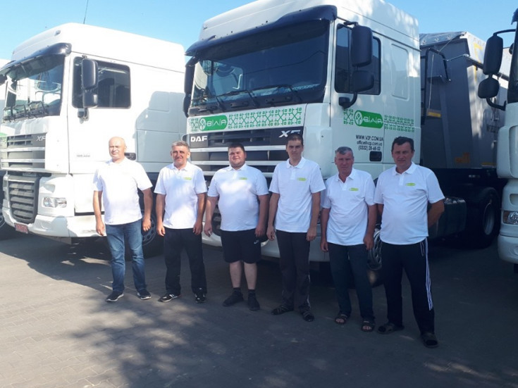 Автопарк ТзОВ «Волинь-Зерно-Продукт» поповнили на шість одиниць нових автомобілів DAF.