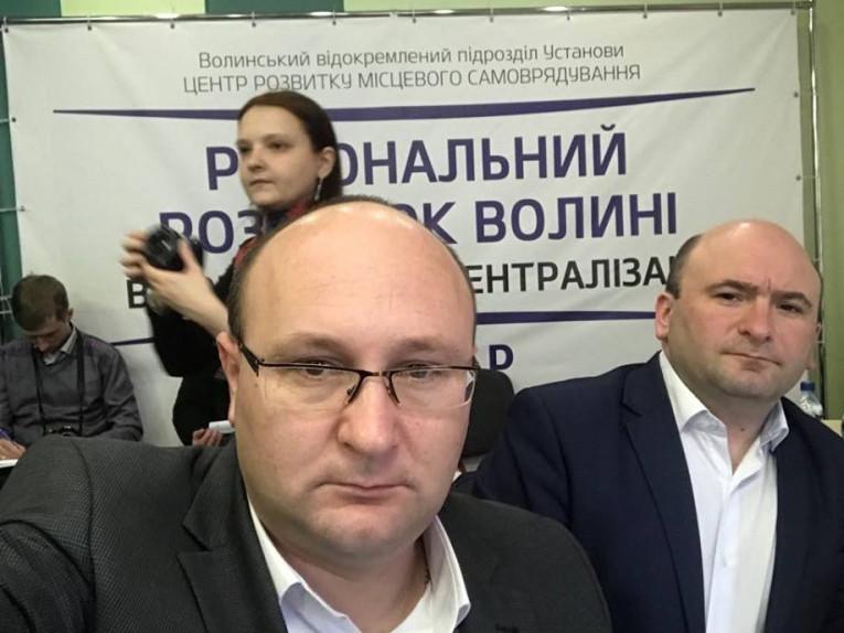 Олег Кух на засідання круглого столу