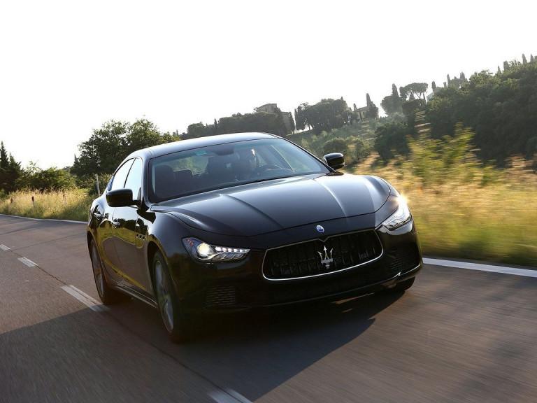 Авто Maserati. Фото ілюстративне