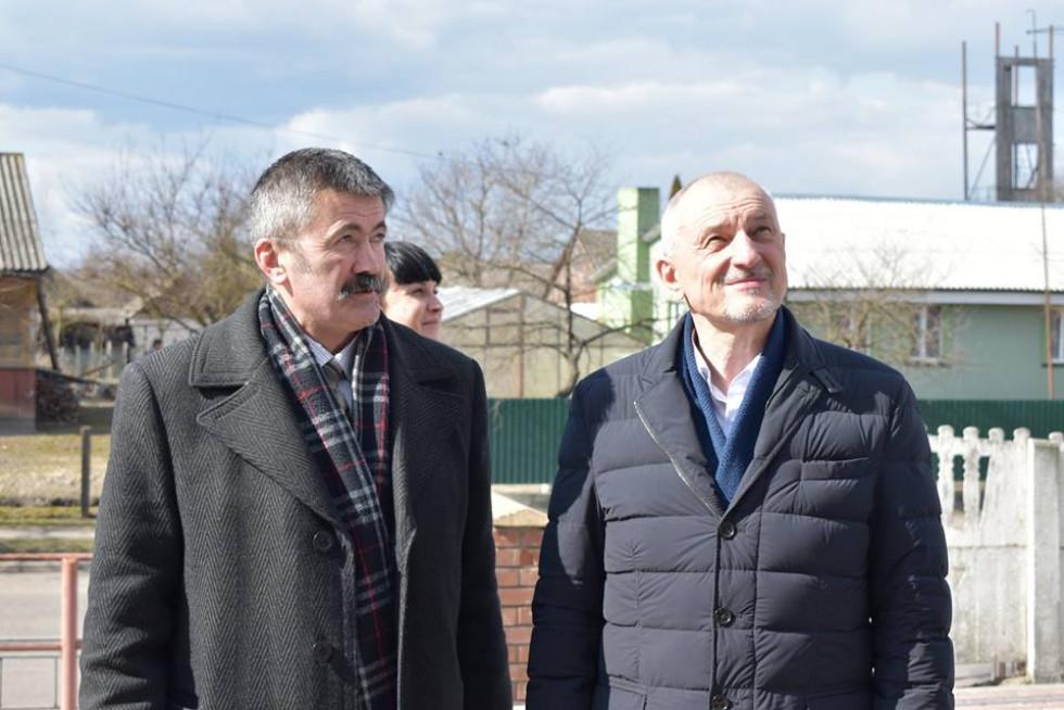 Олександр Савченко відвідав Турійщину