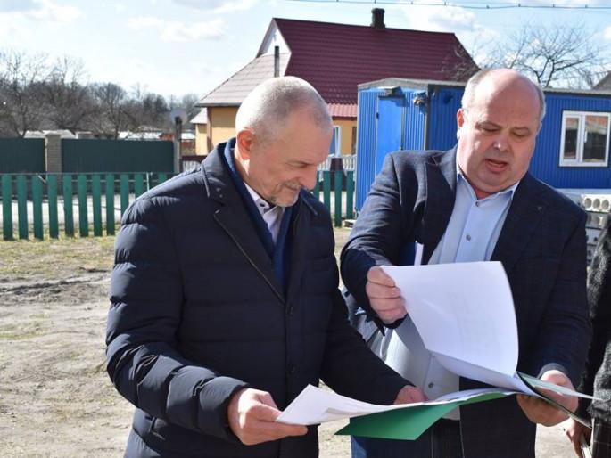 Голова Волинської облдержадміністрації Олександр Савченко здійснив робочу поїздку в Турійський район