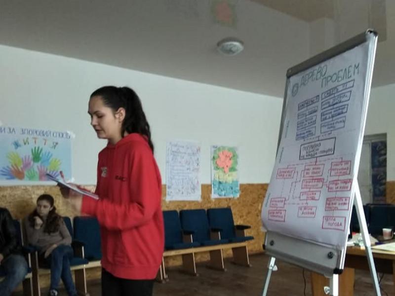 Молодь Любешівщини готується стати активними громадянами