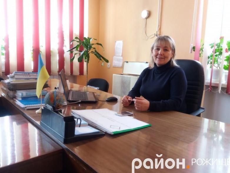 Очільниця РуднянськоїсільськоїрадиРожищенського району Світлана Якимлюк