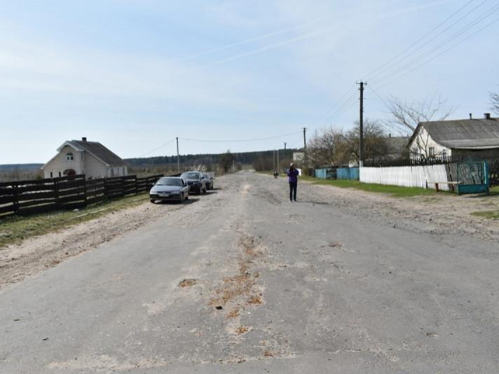 У чотирьох селах Маневиччини побудують дорогу