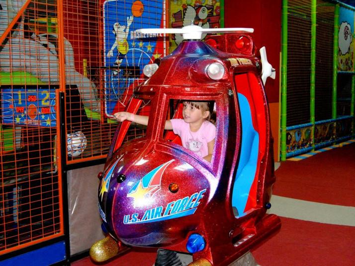 гровий центр підготував для малюків розваги