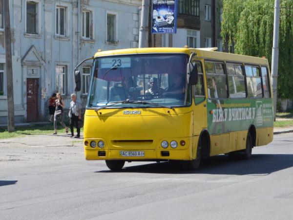 у Луцьку знову їздить маршрутка №23