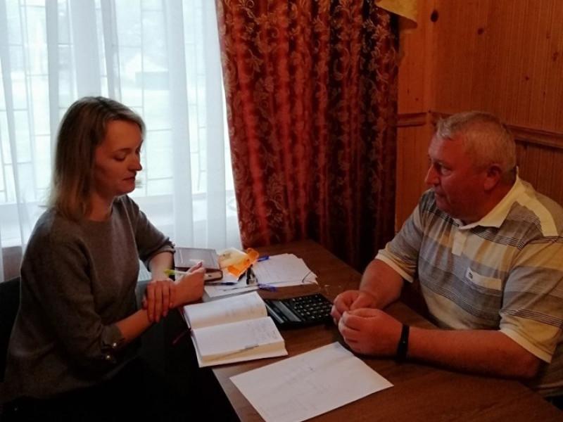 Ольга Ковальчук і Василь Корець