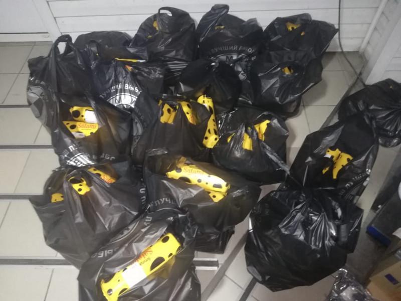 На «Устилузі» конфіскували «запакований» сиром автобус