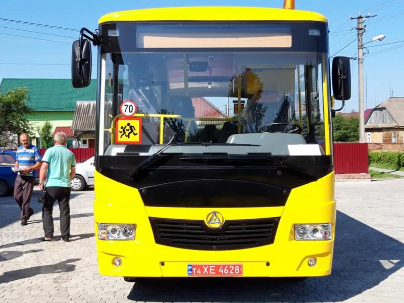 Новий автобус для школярів Заболоттівської громади