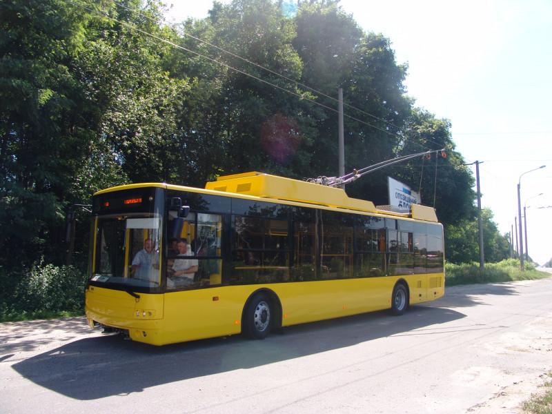 Тролейбус «Богдан» Т70117