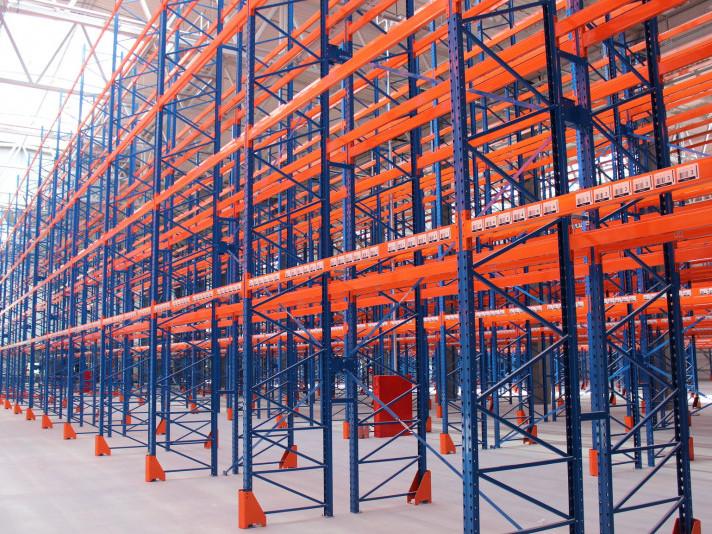 Modern-Expo обладнала новий склад корпорації Geberit стелажною системою