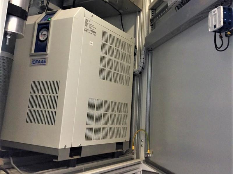 система озонування, яка очищує повітря