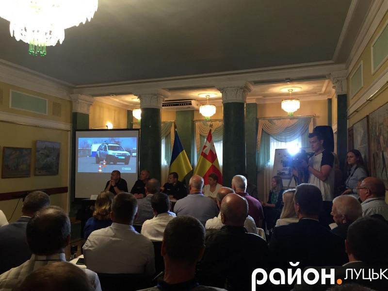 Презентація проєкту в Луцьку