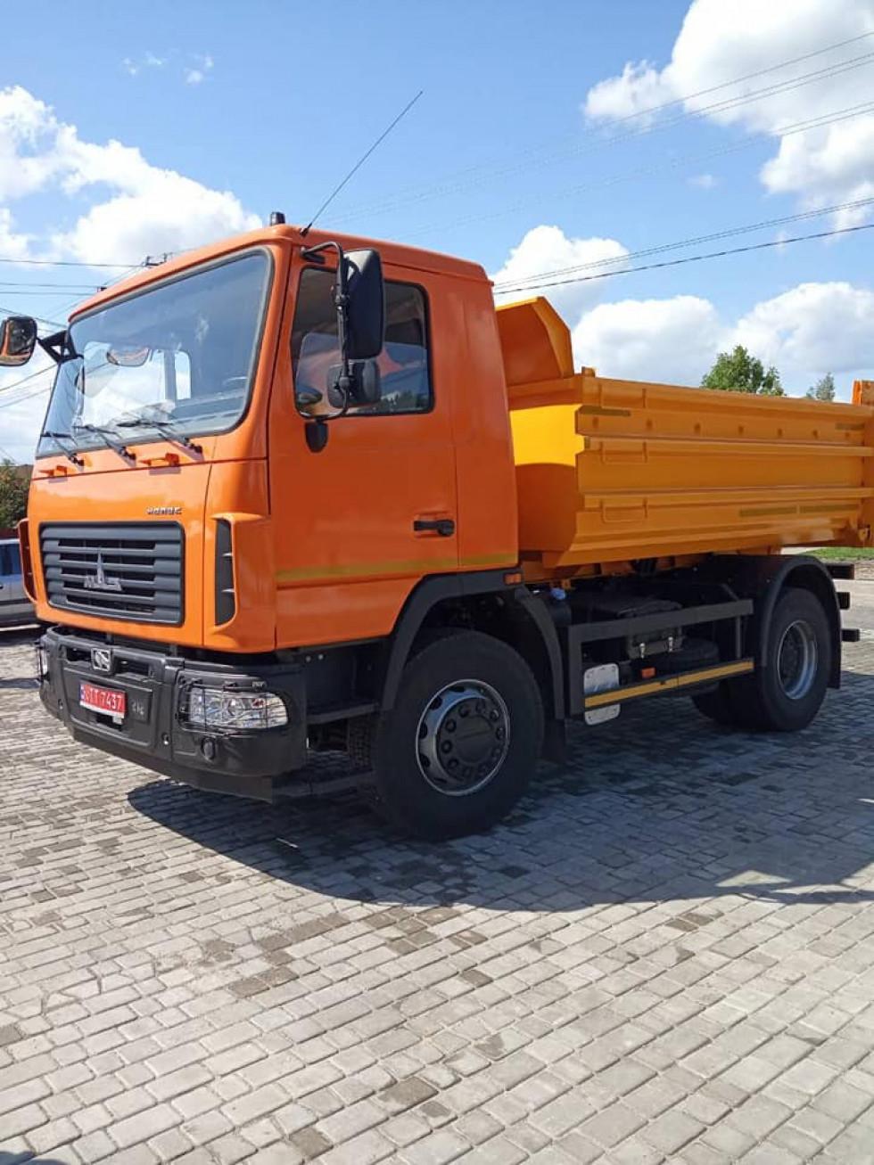 Вантажний автомобіль-самоскидМАЗ