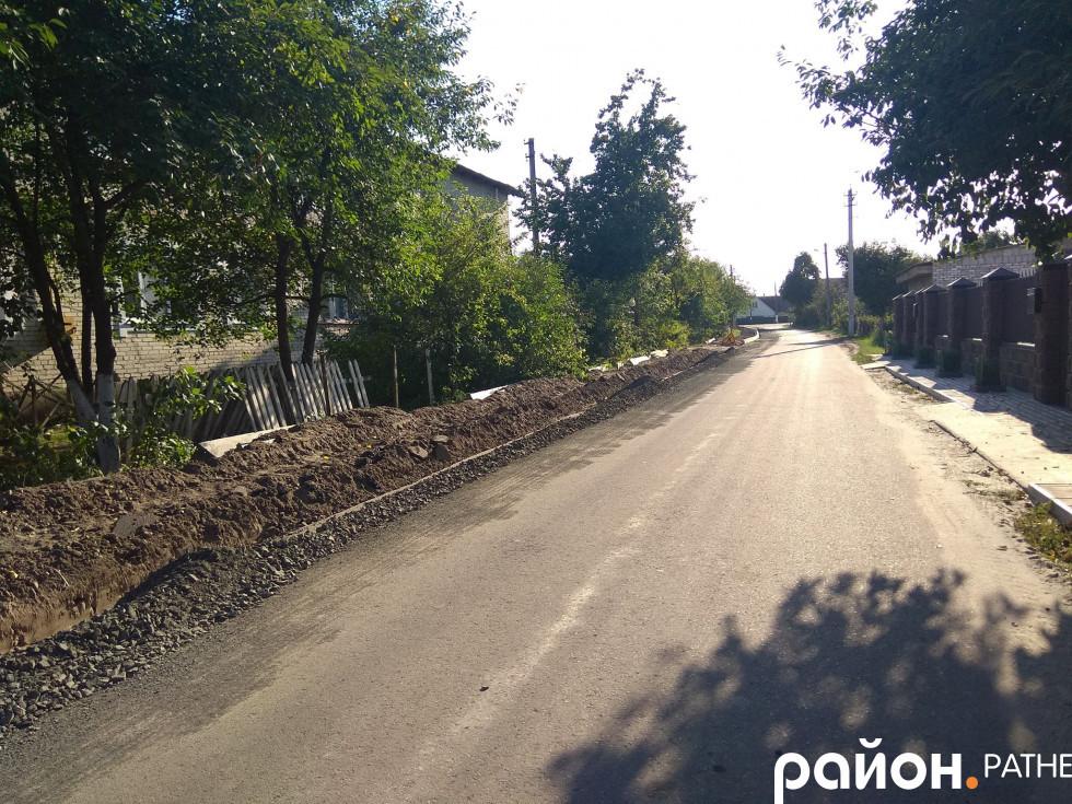 Ремонт вулиці Набережна