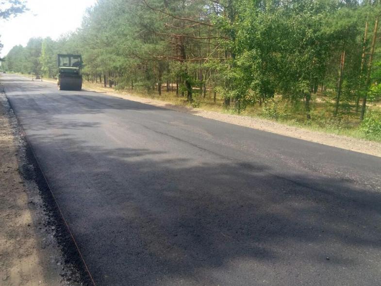 Ремонт дороги Седлище Камінь-Каширський
