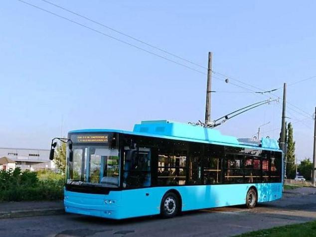 Нові тролейбуси від «Богдана» вже їздять у Хмельницькому