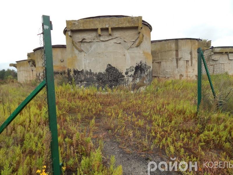 Резервуари з отруйними відходами Ковельського ветсанзаводу