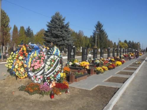 У Гаразджі хочуть розширити кладовище