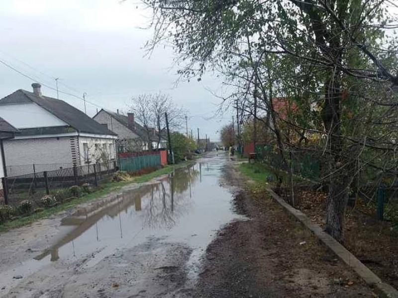У Ковелі після проведення водовідведення на дорозі «стоїть» вода