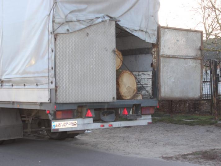 Крадена деревина