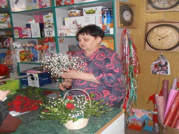 Шацька флористка Любов Сіжук поділилася із безробітними секретами свого успіху