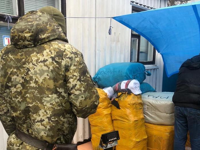 Прикордонники перепинили ввезення в Україну контрабанду