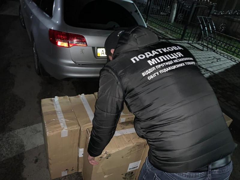 У Любомлі затримало авто з сигаретами