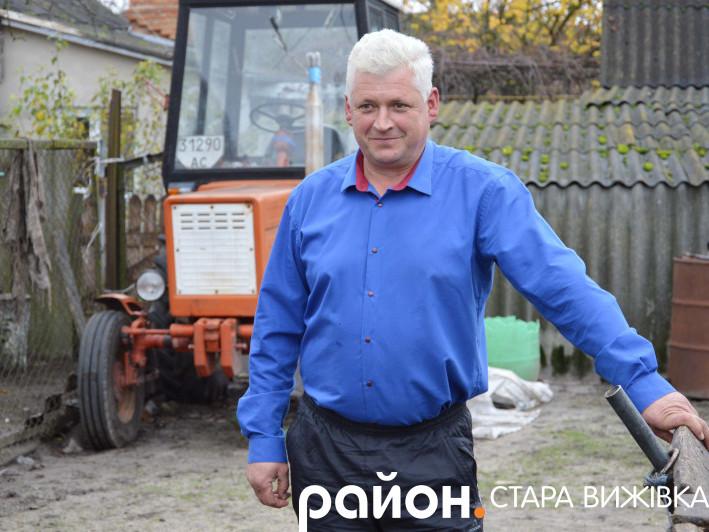 Петро Бірук сподівається, що селянська праця колись буде цінуватися й в Україні