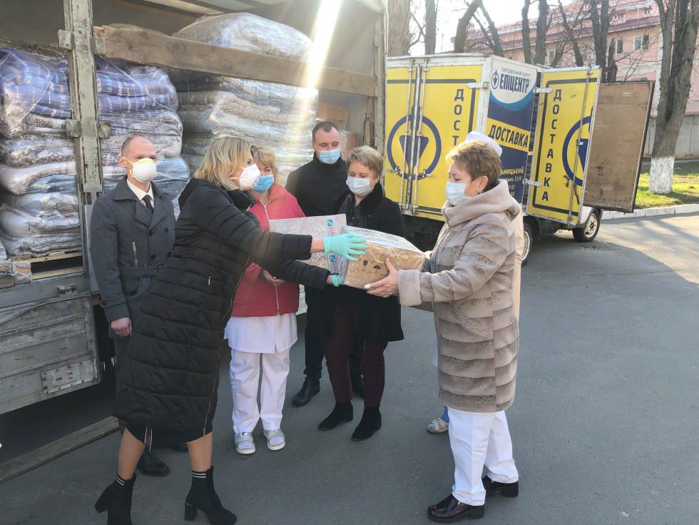 Допомога Хмельницькій інфекційній лікарні