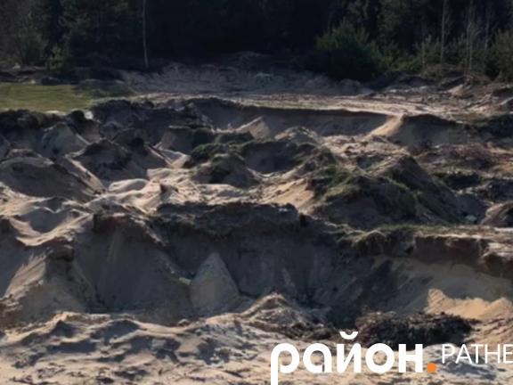 На Ратнівщині митник у нетверезому стані крав пісок