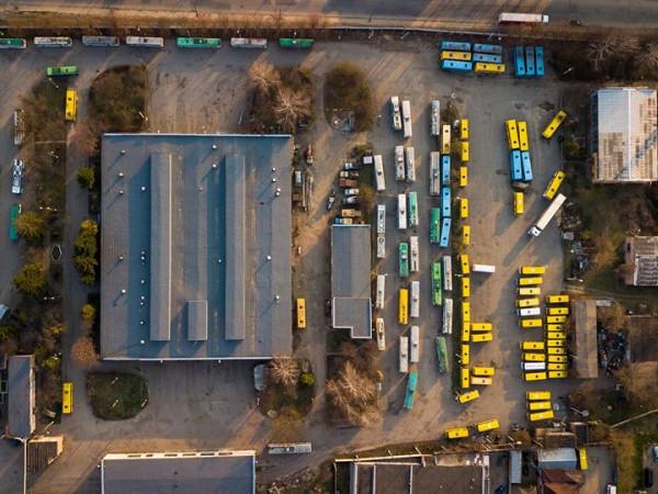 Як карантинують луцькі автобуси та тролейбуси