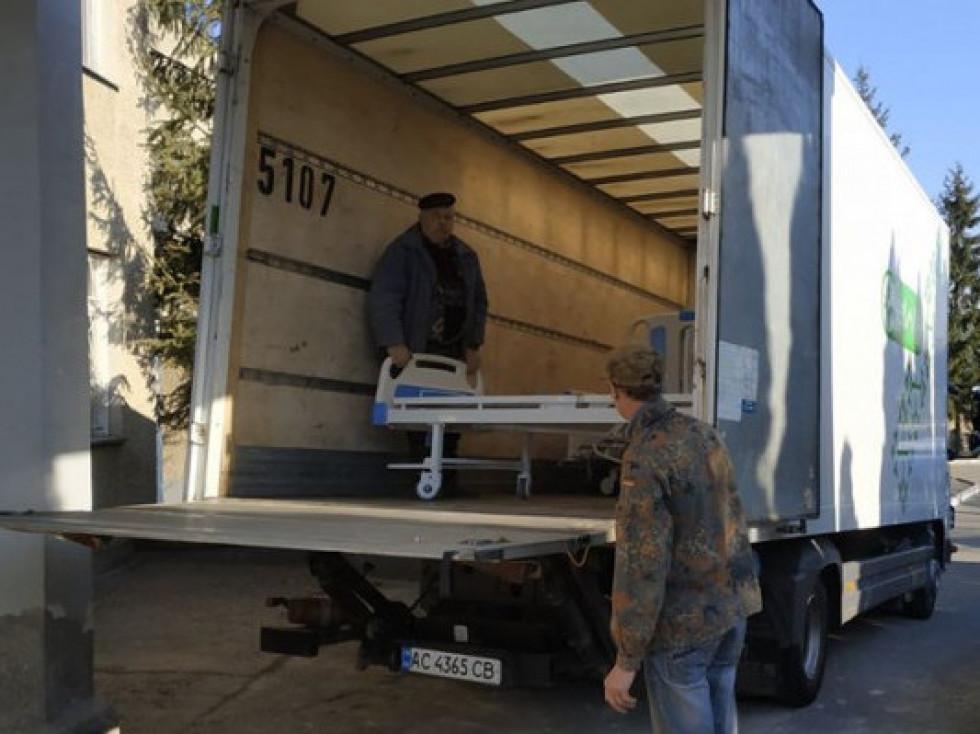 Вантажівка «ВОЛИНЬ-ЗЕРНО-ПРОДУКТ» зі спецліжками