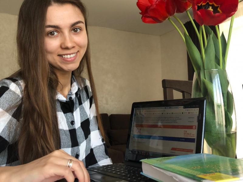 Ірина Галянчук, зареєструвалася в чат-боті Viber 7104UA
