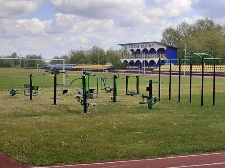 Спортивно-тренажерний майданчик у Любешеві